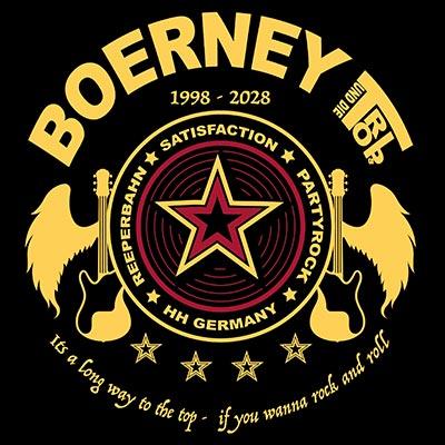 Boerneys Logo rund